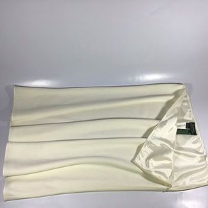 Lauren Ralph Lauren off white skirt plus size 16